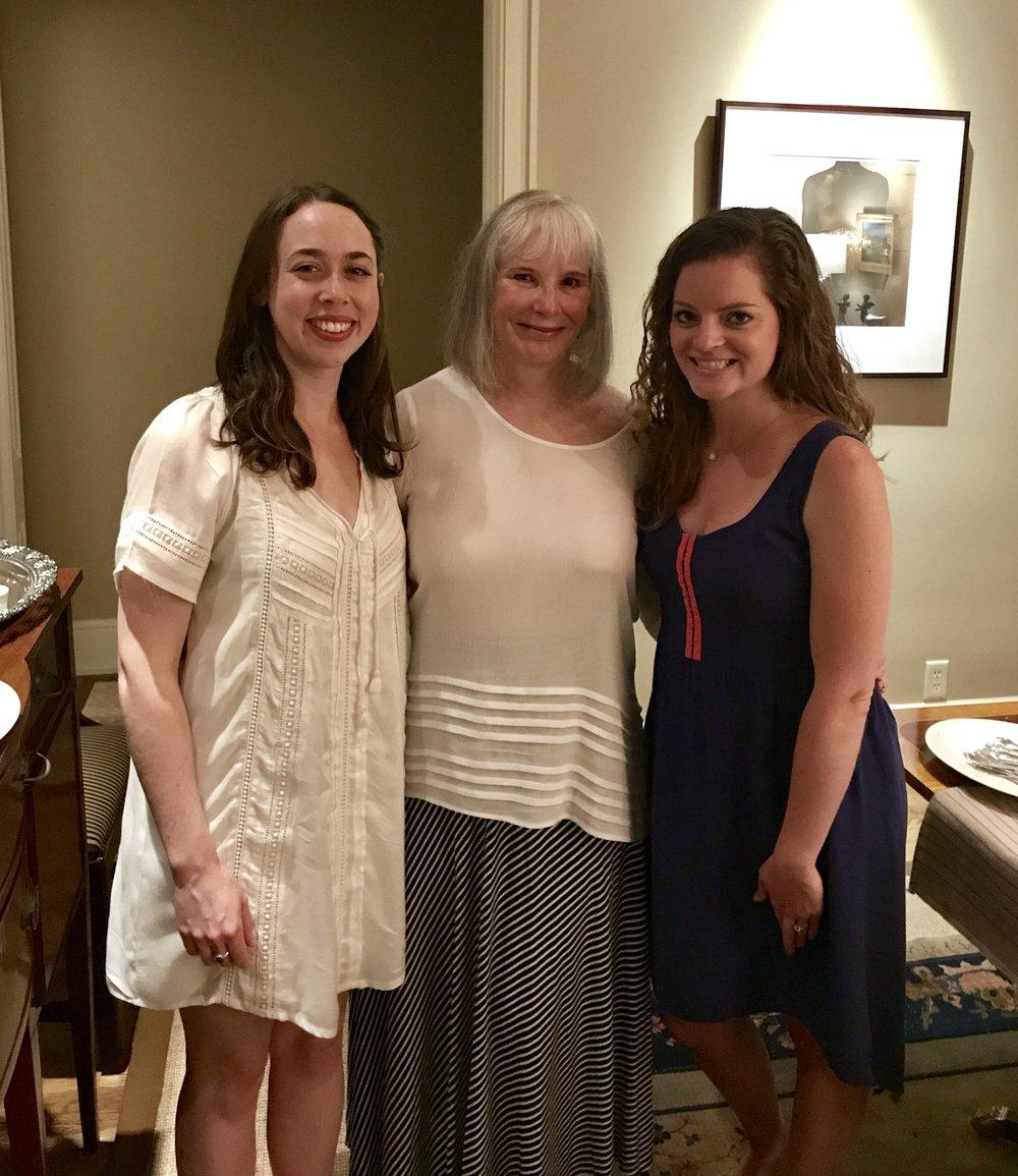 Sarah Jarosz, Denise Stiff, Katherine Forbes