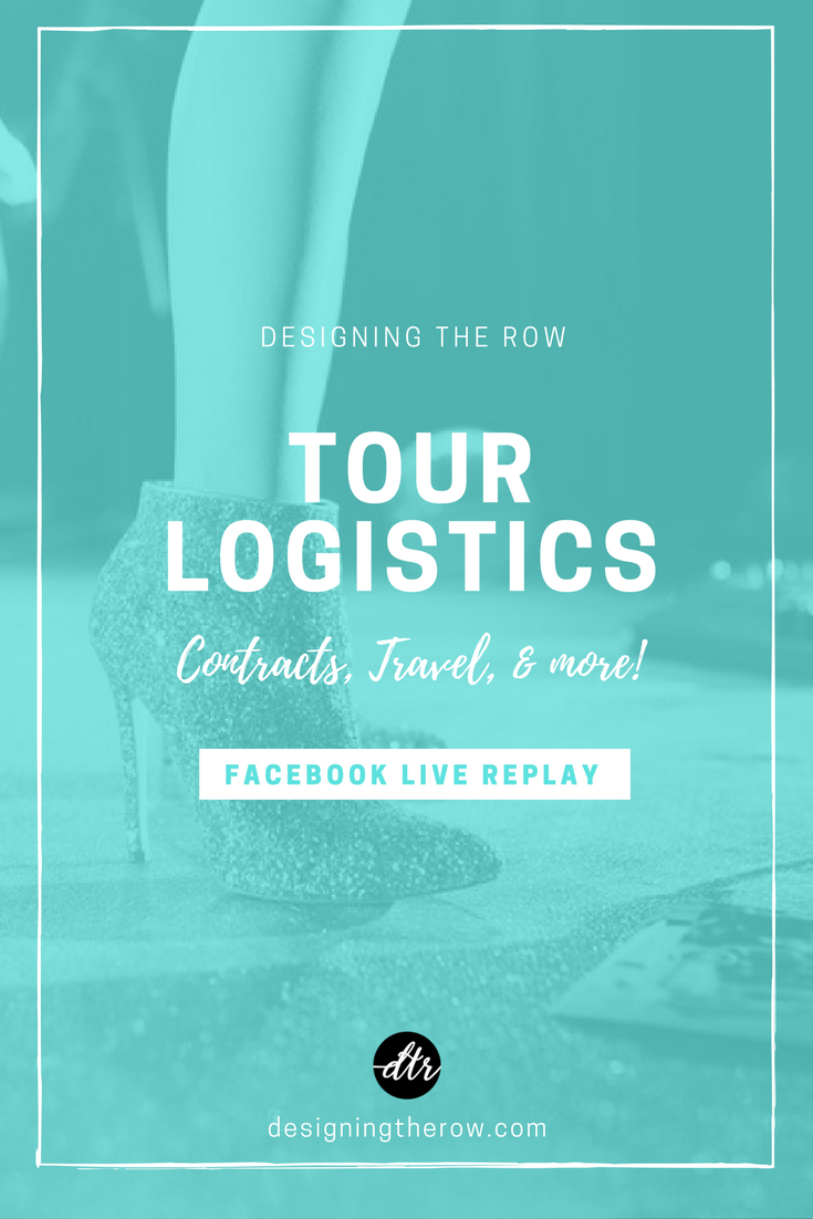Tour Logistics | Concert Contracts, Travel, & More
