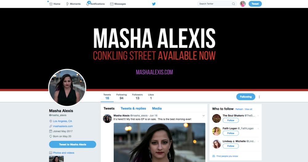 Masha Alexis | Twitter