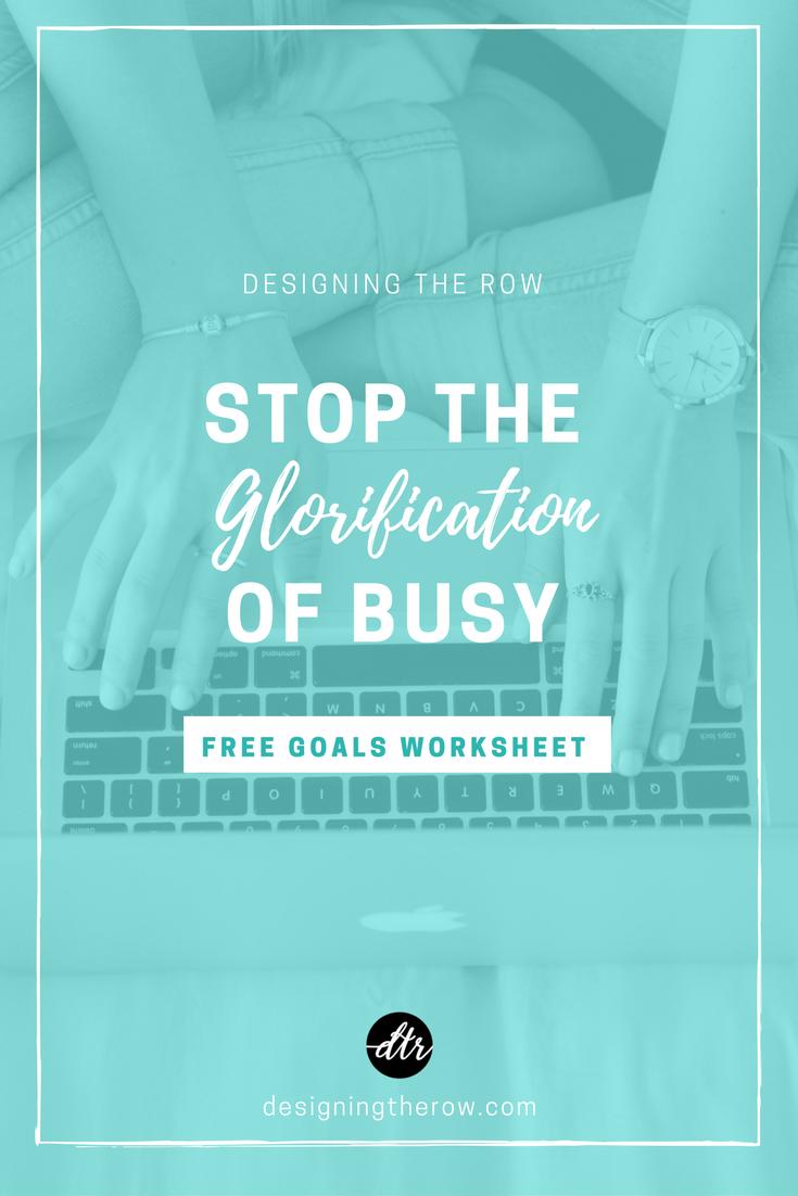 Glorification of Busy