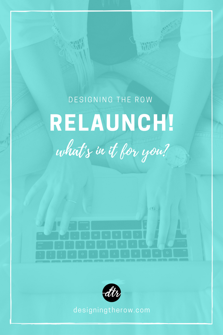 Designing the Row relaunch | Nashville design and marketing company