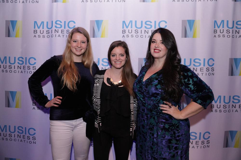 Kailyn Liebetreu, Katherine Forbes, Jamie Litt Photo courtesy of Music Biz