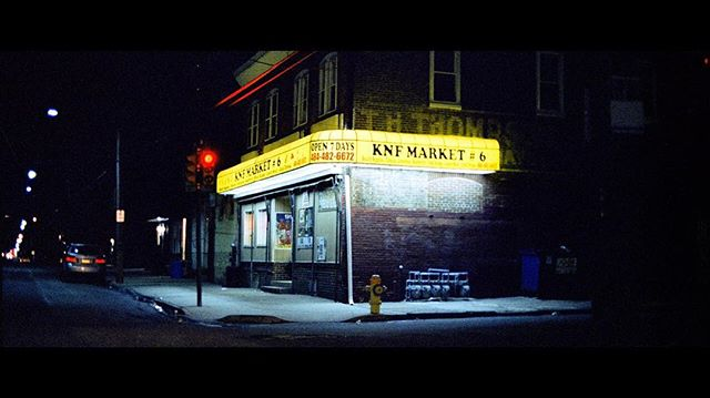 A quiet night on the corner in North Philadelphia. 2018. ⠀⠀⠀⠀⠀⠀⠀⠀⠀ ⠀⠀⠀⠀⠀⠀⠀⠀⠀ #kodak #5219 #filmisnotdead #lekkerzine #lensculture #moodygrams #dreamermagazine #myfeatureshot #somewheremagazine #visualsoflife #subjectivelyobjective #filmphotographic #noicemag #dazedandexposed #minimalzine #35mm #lighting #ig_onstandby #cineminer #photocinematica #madewithkodak