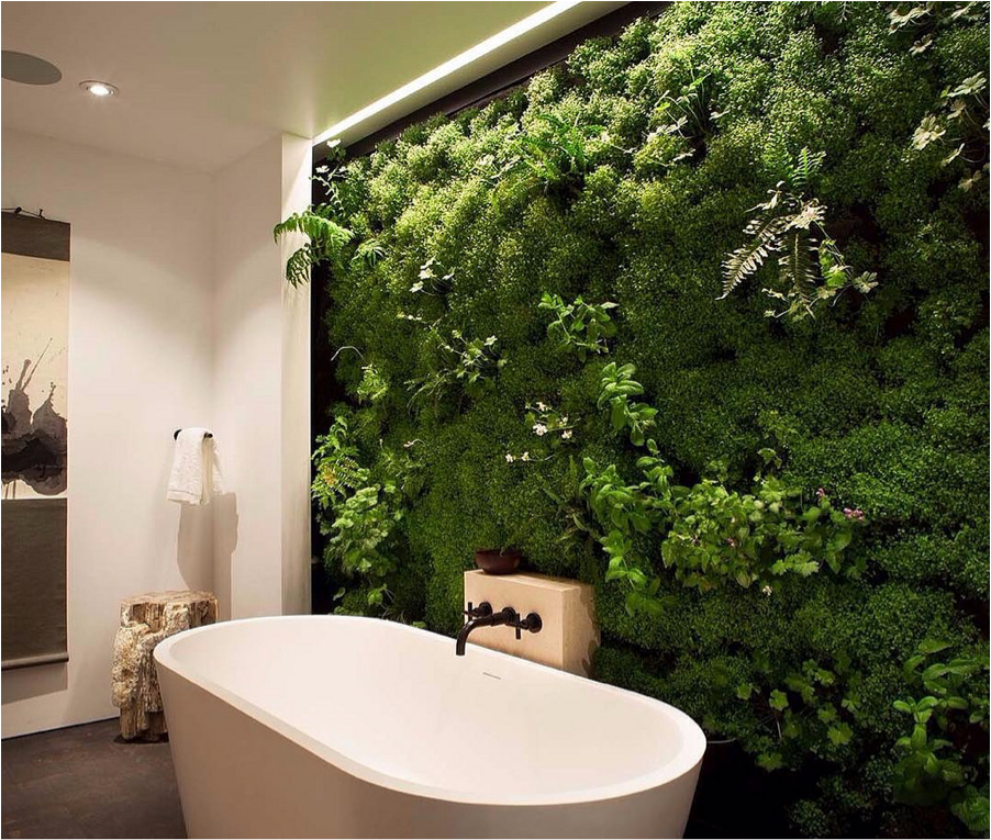 Living Wall's - Reduces noise & energy cost, while improving air quality