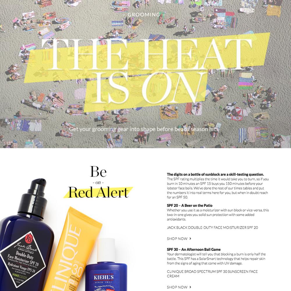 The Heat Is On | Holt Renfrew