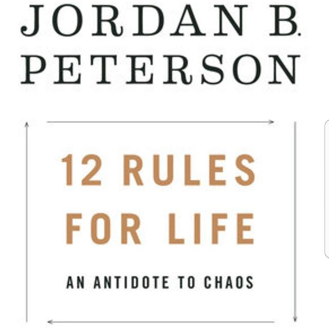 Jordan B. Peterson's 12 Rules for Life. @jordan.b.peterson  I'm just starting to get into his new audiobook. I've been waiting for it for a while now and it released 2 days ago.  If anyone out there is stuck in a rut, depressed, anxious, lazy, unmotivated, drifting through life, suffers from low self esteem, stressed, lacking confidence, directionless, nihilistic, experiencing a sense of futility from a lack of meaning, or any other difficult mental distress, then I can't reccomend Dr. Peterson highly enough.  Go to his YouTube channel to get a taste of what you'd be in for. His insights are powerful and they'll kick you in the ass. I stumbled across Dr. JBP on a podcast about 2 years ago. His teachings drastically changed my world view, my understanding of anxiety and my understanding of my personality characteristics. He provides a framework for finding meaning in a chaotic world. I returned to Uni a few months ago to study Psychology and a big part of the inspiration behind that decision was due to Dr. Peterson's work.  I don't 100% agree with Dr. Peterson on all matters, but the man is a modern day psychological genius and he deserves all of the recognition he has been recieving over the past few years. I repeat, if you are not doing well in life in general, this book is for you.  Warning: Tough Love & Consequenses within.8