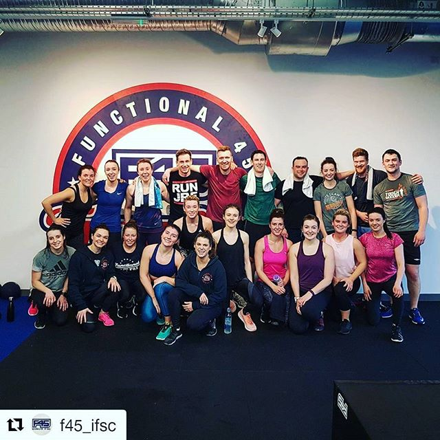 Starting the weekend on a high @f45_ifsc
