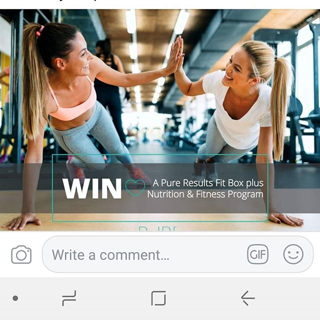 #WIN a Pure Results Fit Box of goodies and a Pure Results Fitness & Nutrition Program!  Celebrate the month of love ❤ with us by posting a photo 📸 of you and your favourite partner in crime (friend, sibling, better-half) doing a workout move of your choice to be in with a chance to win this amazing prize.  Post your photo in the comments under this photo on our facebook page or tag us @pureresultsbootcamp on Instagram and you'll be entered into the draw! #InItToWinIt #PartnerWorkout #FitFam2018  Ts and Cs apply. Competition closes 14 February at 12pm. Winner announced on 14 February at 5pm.