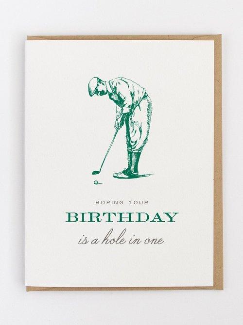 Golf Birthday Card Greeting Jerry And Julepjpeg