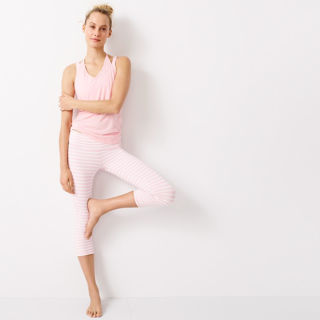 New Balance collaboration with J.Crew capri work out leggings