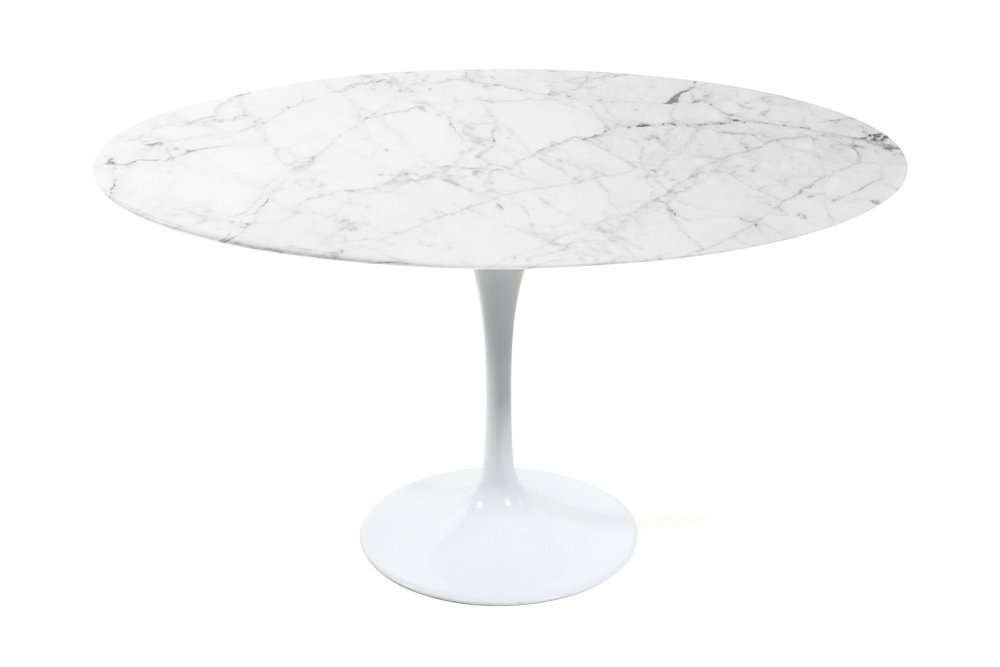Tulip Dining Table-White Carrera Marble.jpg