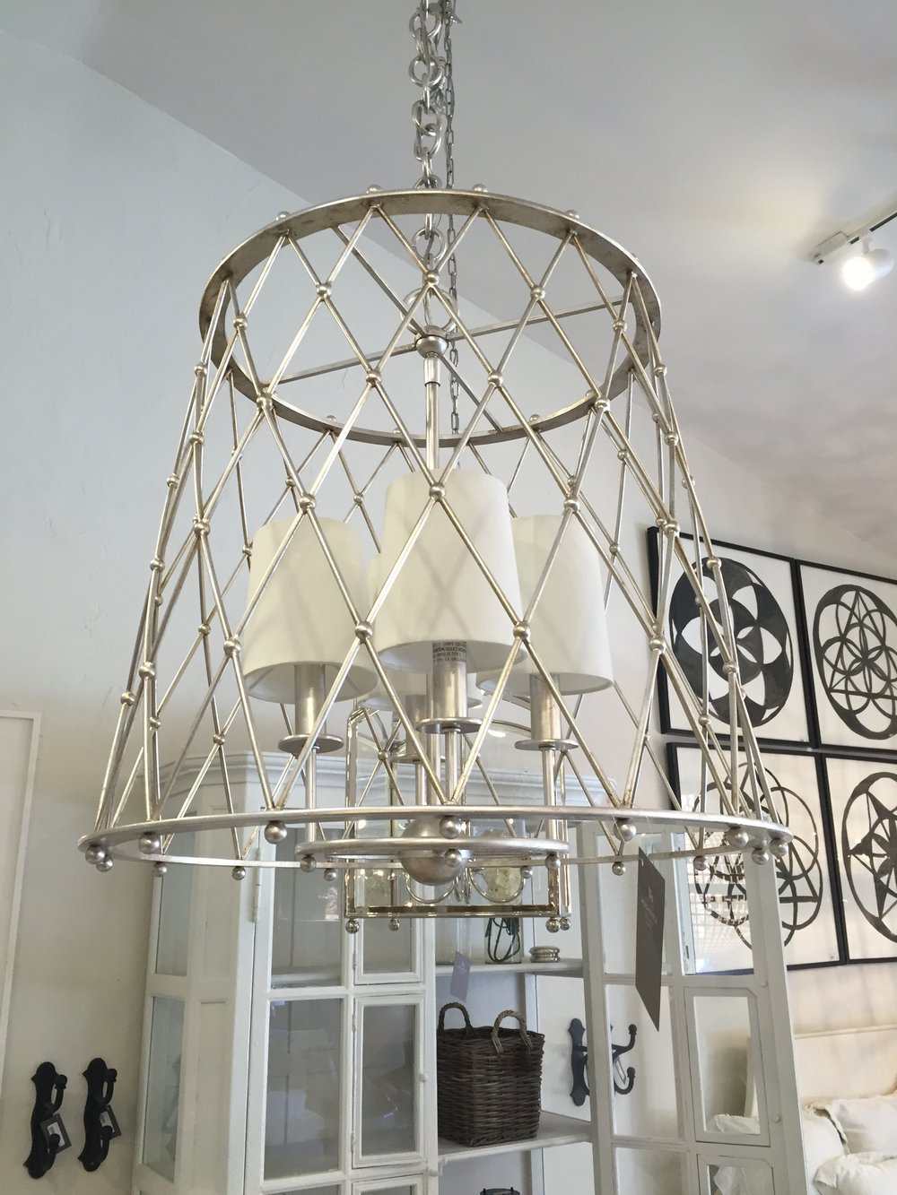 A light I love from Muskoka Living Interiors, also Visual Comfort