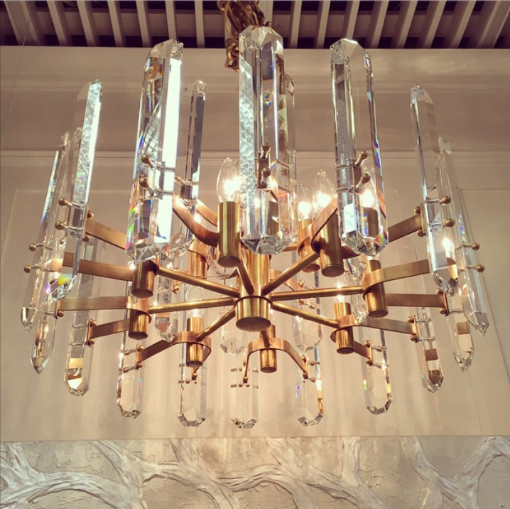 Our dream fixture from  Union Lighting , in Toronto