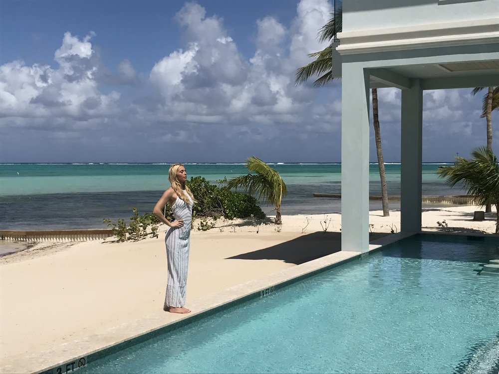 """Cayman Vows Magazine    """"A beautiful place to start a life together"""". Beyond excited about the launch of the brand new magazine Cayman Vows by Angela Desveaux and her incredible team. Cloud9Creative created  this  wonderful compilation video of all the awesome talents - including photographers Rebecca Davidson, Heidi Niemala, Jose Villa with all shoots styled by Elizabeth Clark, make up by Victoria Radford, swimwear by local Cayman shop Sand Angels, and hair by Jackie Soriano."""