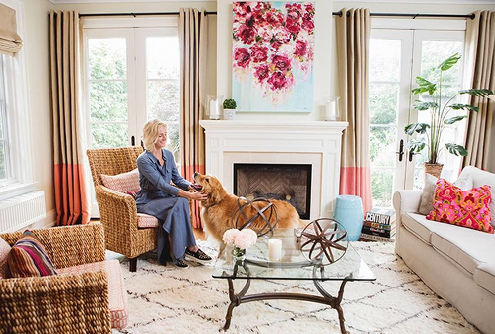Globetrotting fashion executive Christine Carlton infuses her living room with a worldly spirit   - Anya GeorgijevicThe Globe and Mail
