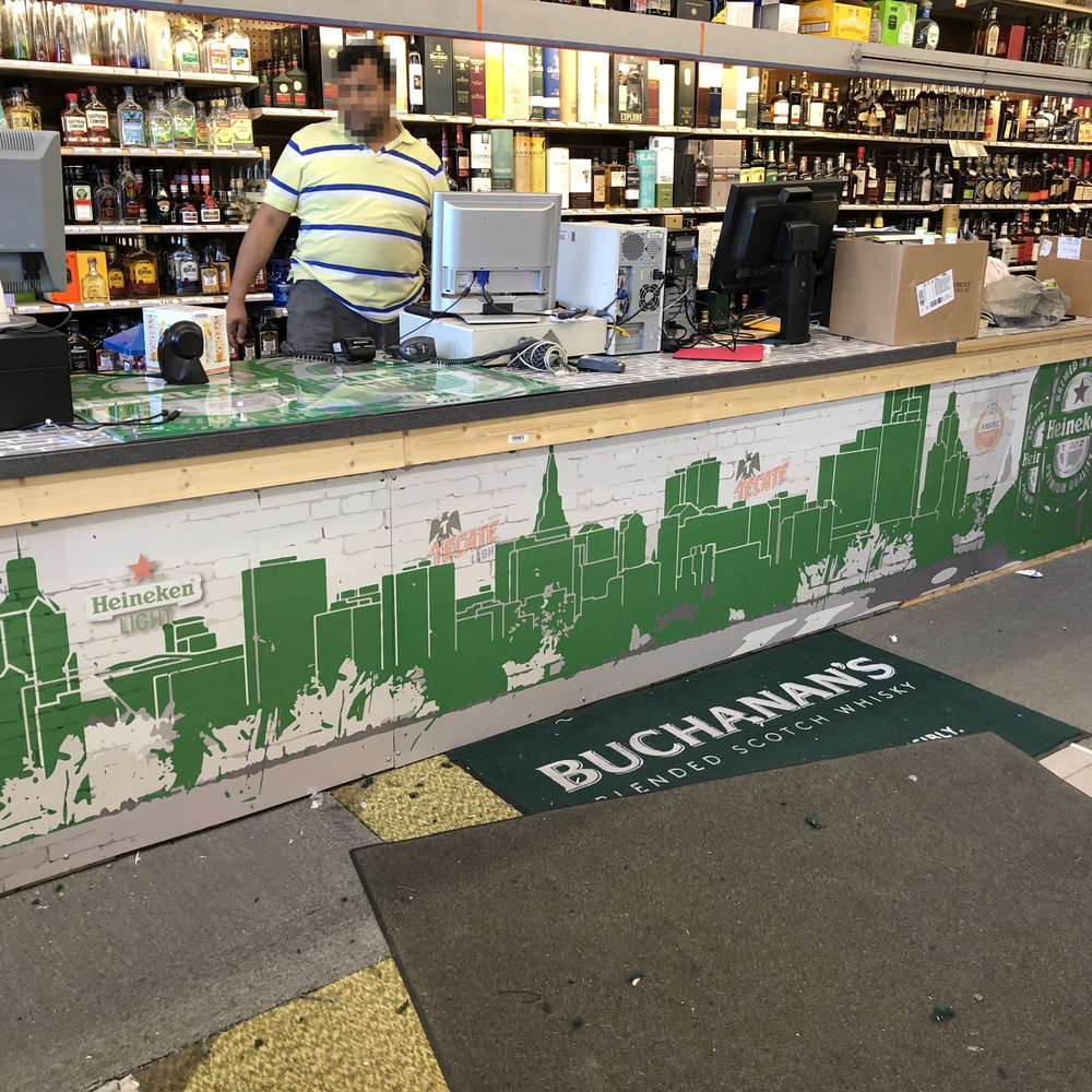 Heineken Counter Face