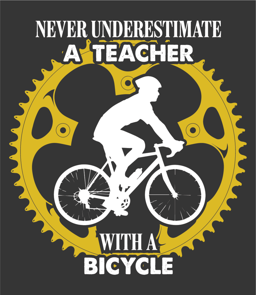 Never Underestimate Teacher Logo