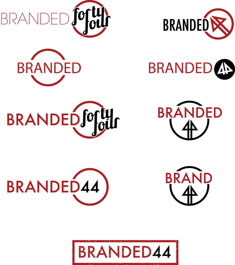 Branded 44 Logo Development
