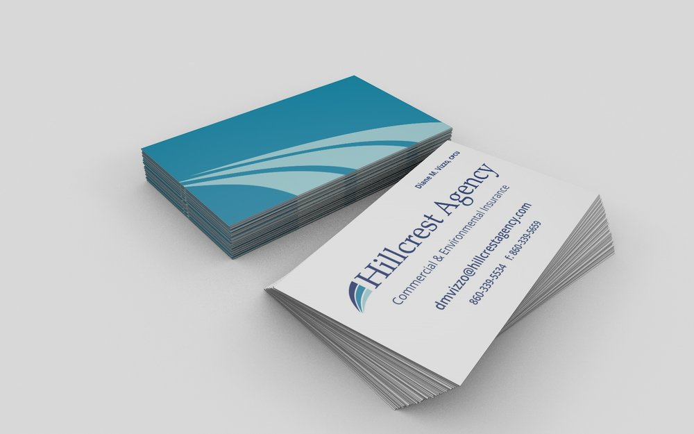 Hillcrest Agency Business Cards