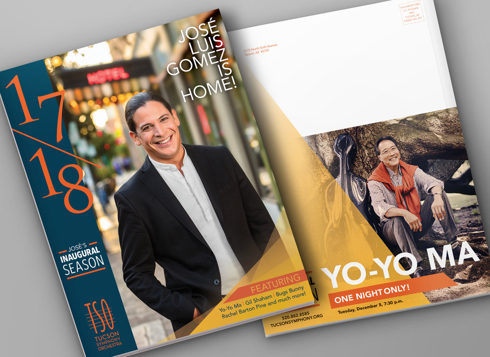 Tucson Symphony Orchestra • 2017 Brochure Design