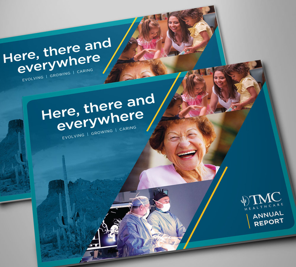 Tucson Medical Center • Annual Report Design