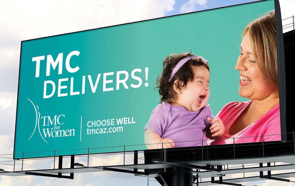 Tucson Medical Center • TMC for Women Outdoor Billboard