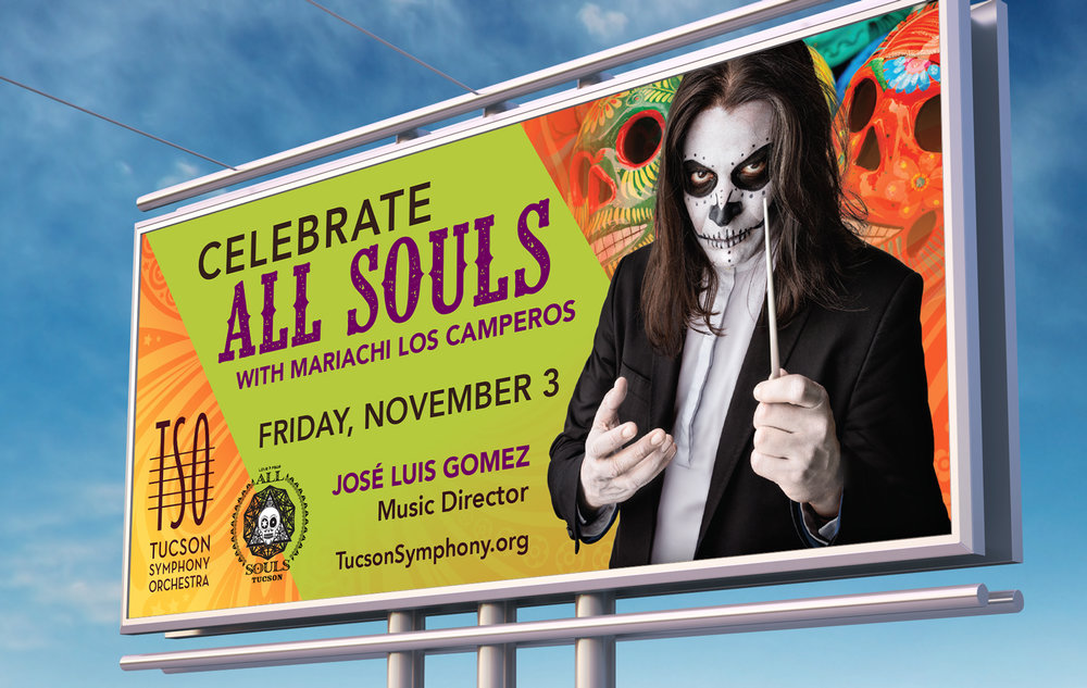 Tucson Symphony Orchestra • Outdoor All Souls Billboard