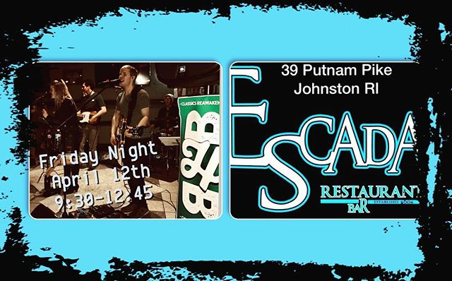 """Friday Night """"BHB"""" at ESCADA in Johnston! 9:30-12:30 lets get the dance floor moving! We need you there.... #bhbclassics #escadarestaurant #fridaynight #classicrock #pluggedin #bethere"""