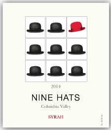 Nine Hats Wines Logo | Just Add Yoga Partner Venue