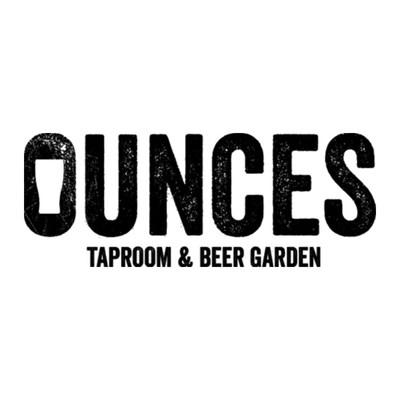 Ounces Taproom & Beer Garden Logo | Just Add Yoga Partner