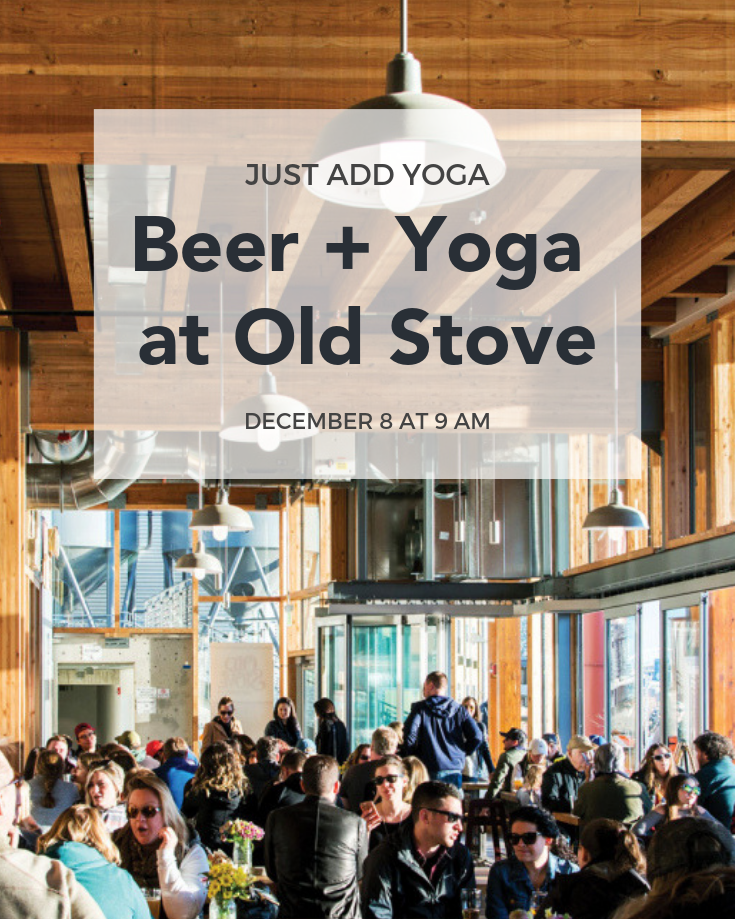 Beer + Yoga at Old Stove Brewing Pinterest.png