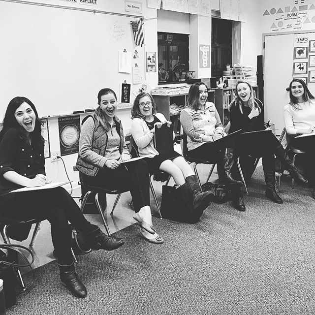 We had a great first night of auditions! Many thanks to everyone to came out to sing for us! Our time slots for tonight are full, but you can still send us a video if interested. #auditions #acappella #washingtondc