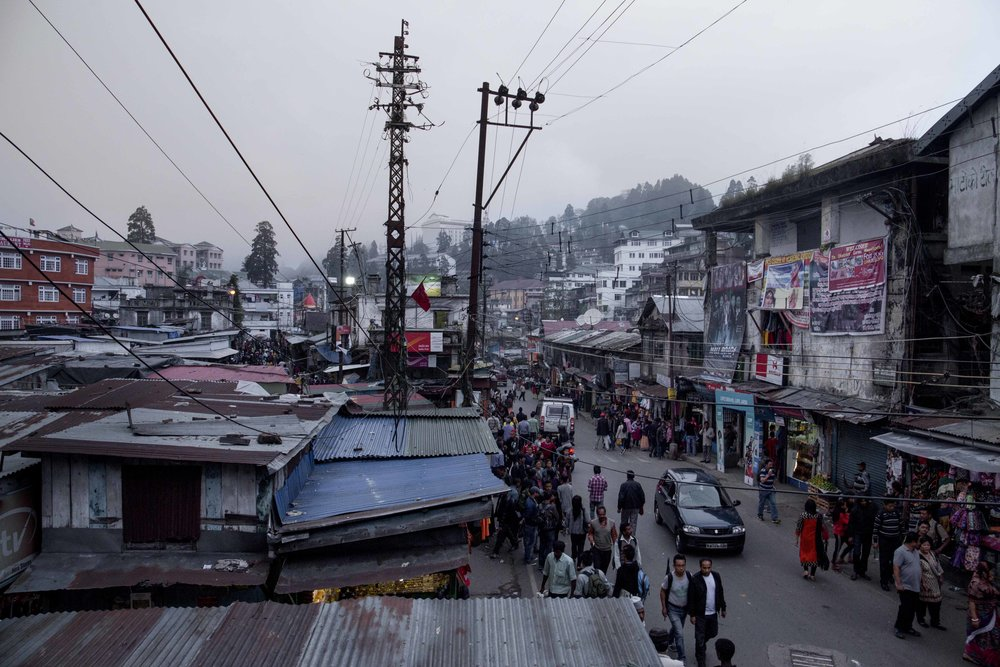 Hill Cart Road, India, Darjeeling