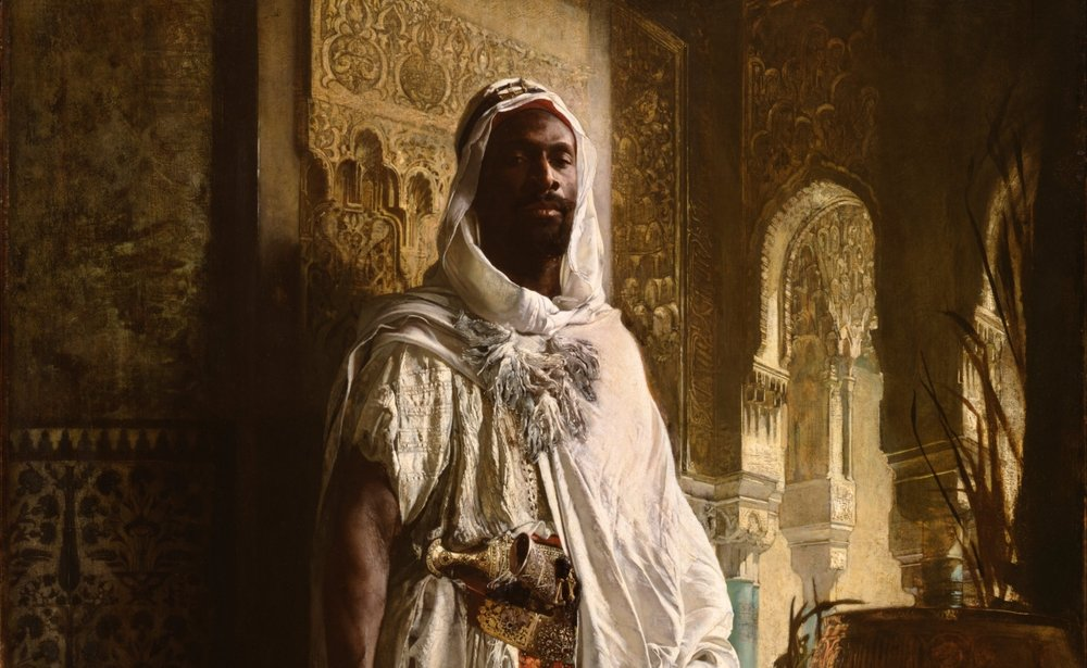 The Moorish Chief   c. 1878 // courtesy of Wiki Commons