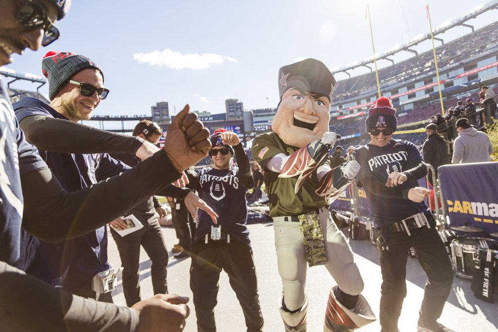 New England Patriots Drumline