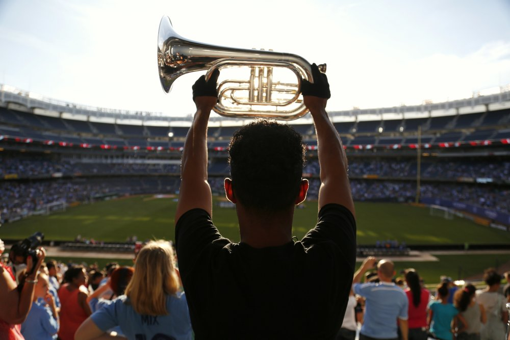 NYCFC Hype Band