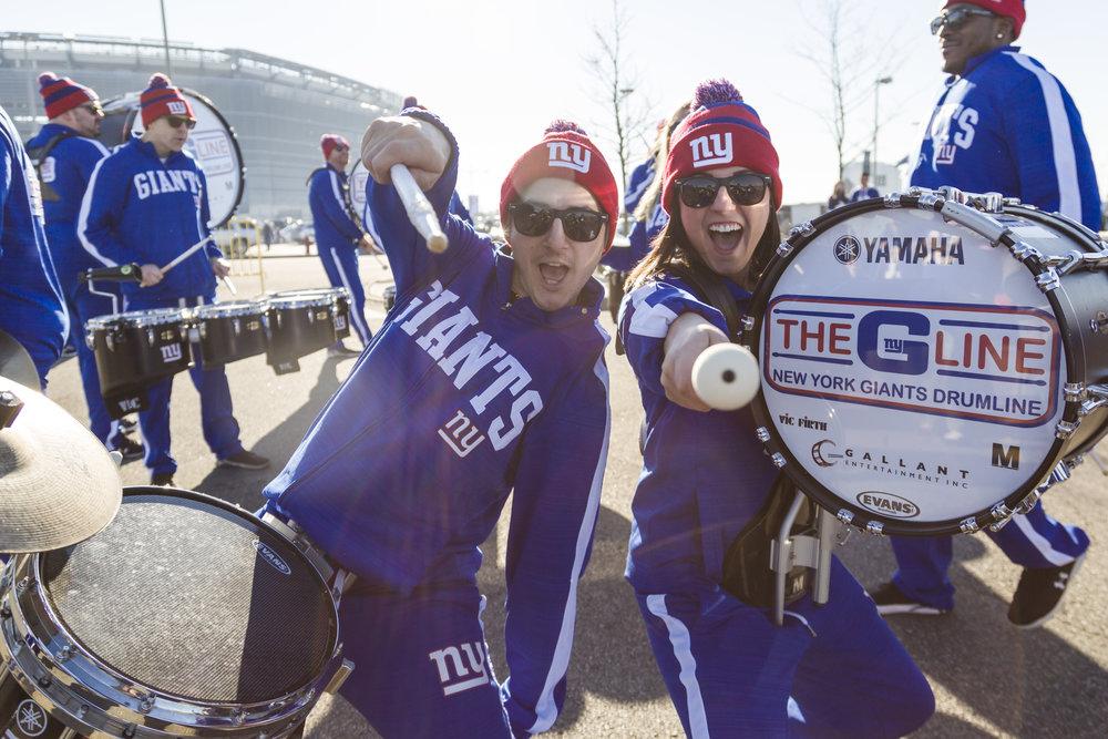 NY Giants Drumline