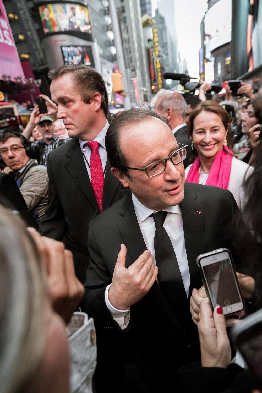 Former President of France - François Hollande