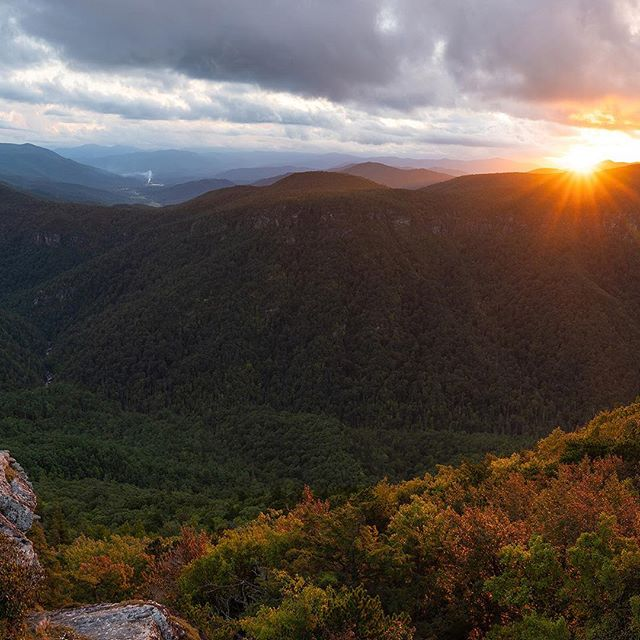 Linville Gorge | Hawksbill | NC | 2018