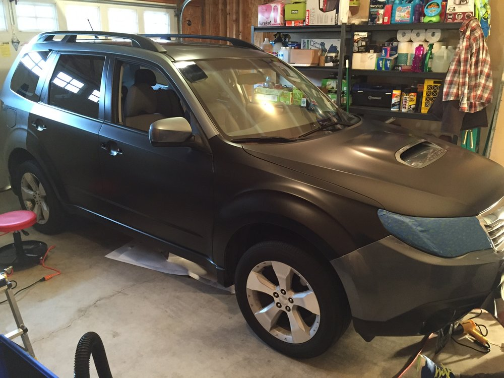 Subaru Forester Paint Wrap