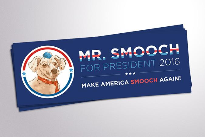 Smooch-Sticker