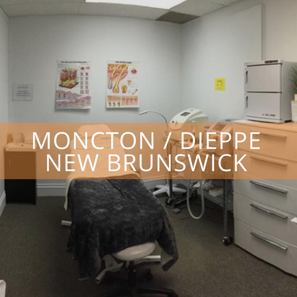 Moncton / Dieppe NB - 988 Champlain StreetDieppe New Brunswick E1A 1P8506.383.1375dieppe@dermaenvy.com