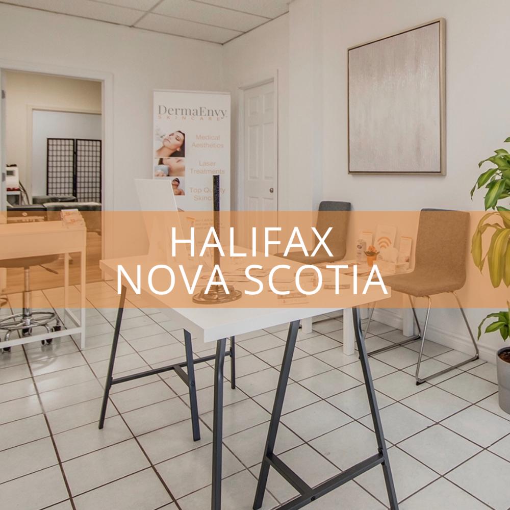 Halifax NS - NOW OPEN 3700 Joseph Howe DriveHalifax Nova Scotia B3L 4H7902.445.3304halifax@dermaenvy.com