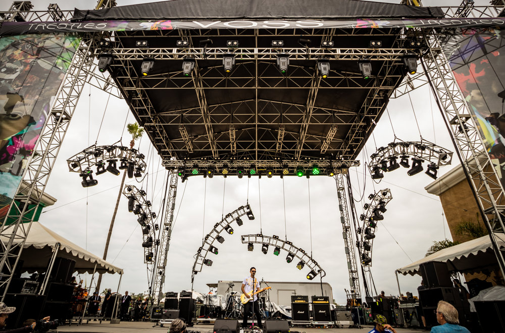 Matthew Phillips at Kaaboo Music Festival Del Mar California. PC: Elfego Becerra