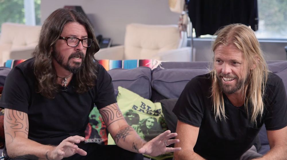 Foo Fighters interview shoot, 2017