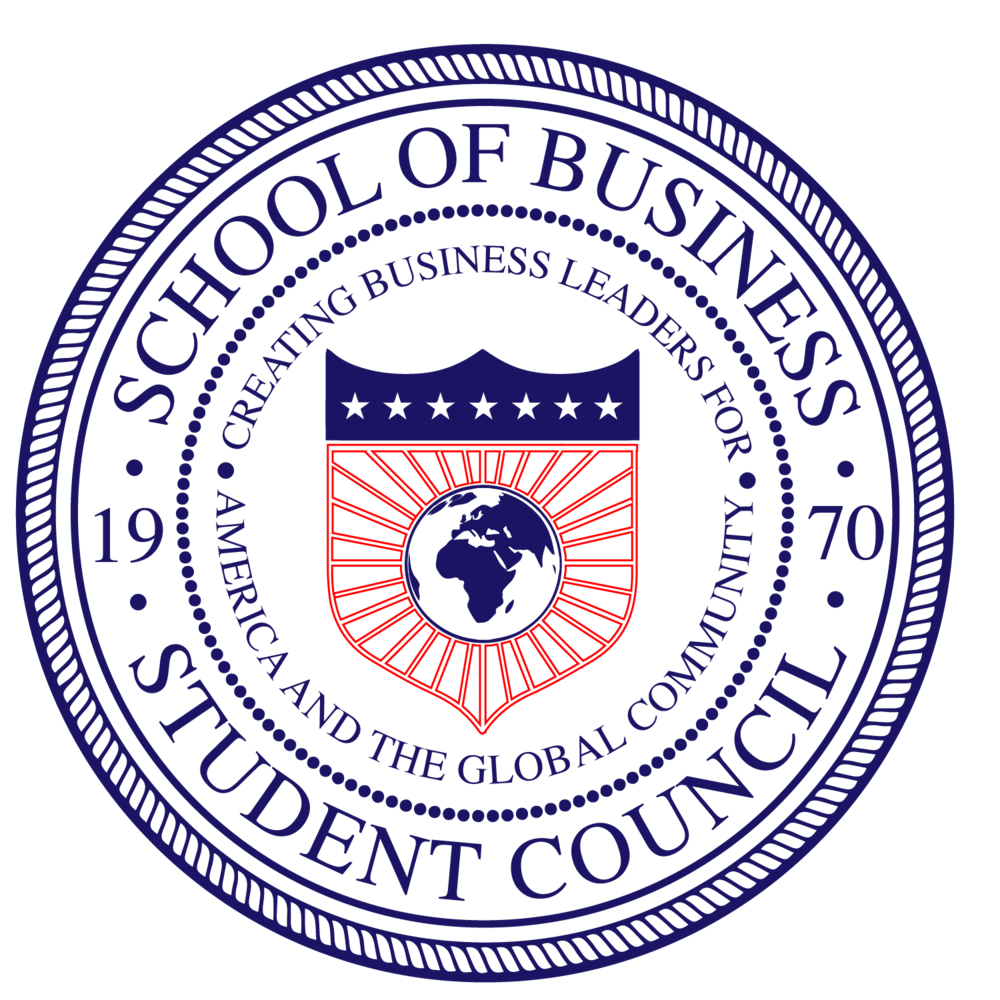 Howard University's School of Business Student Council Seal
