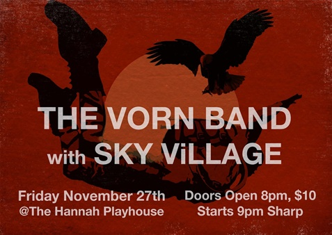 The Vorn Band with Sky Village, 2015
