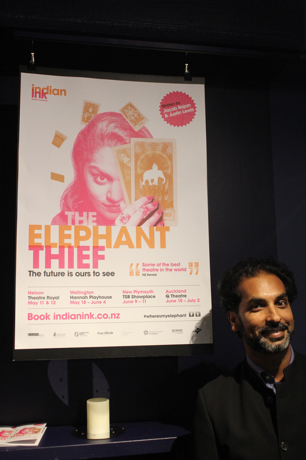 Jacob Rajan, The Elephant Thief, 2016