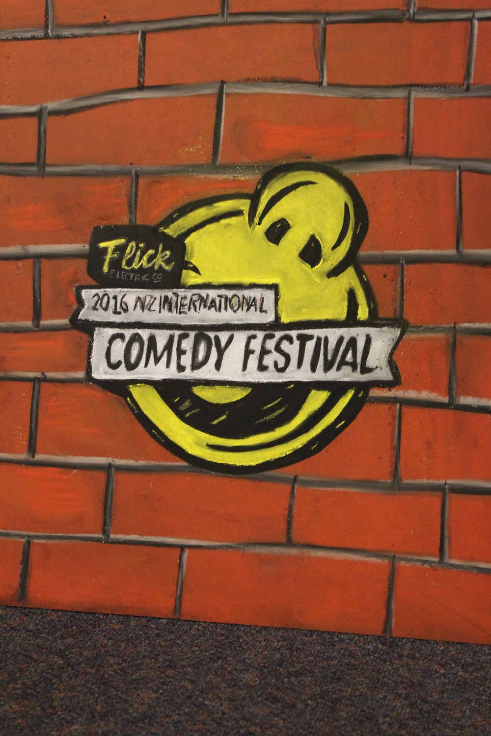 New Zealand International Comedy Festival, 2016