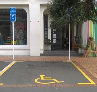 Blair Street accessible car-park